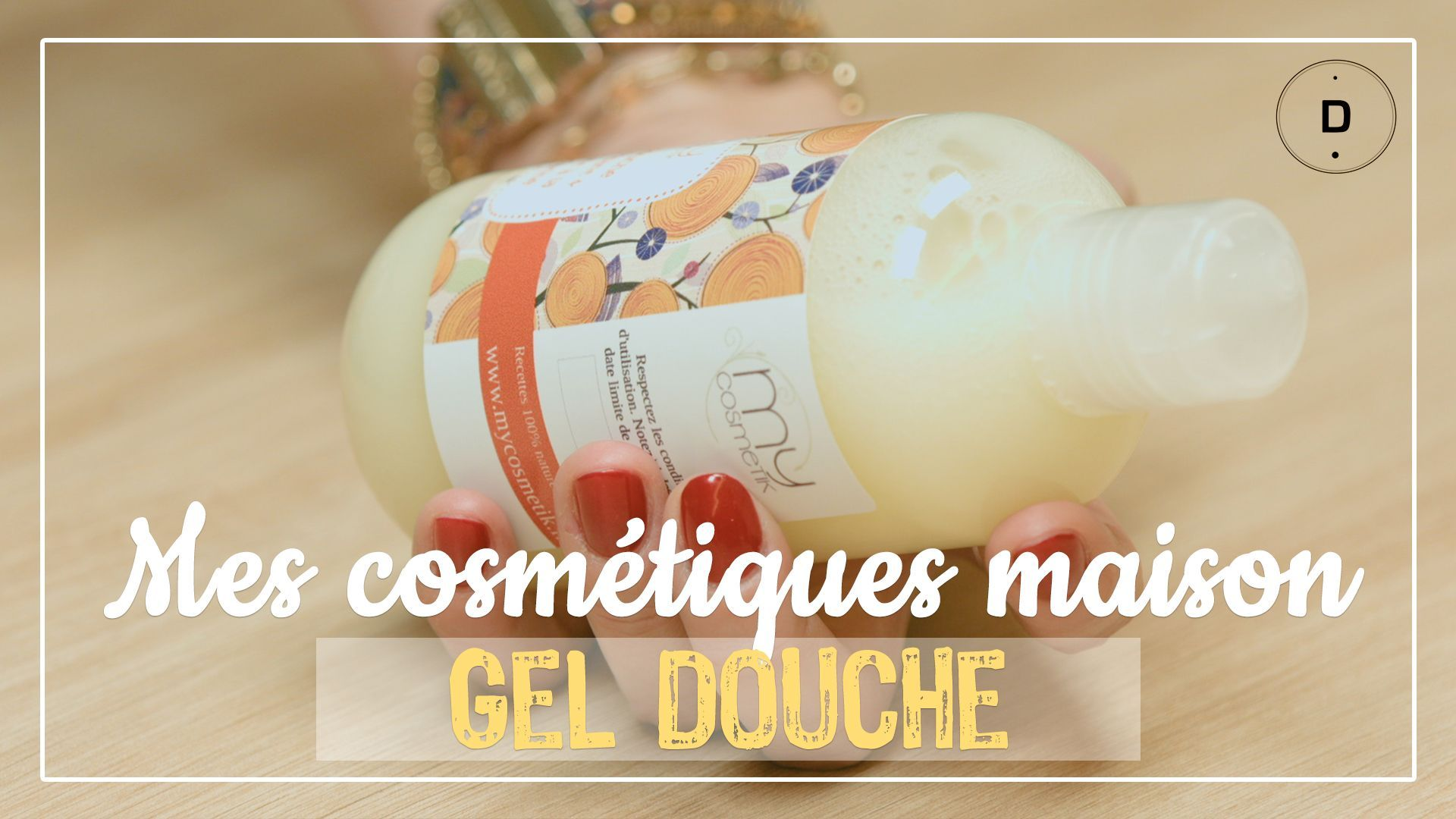 DIY – Gel douche nourrissant et relaxant à la mandarine