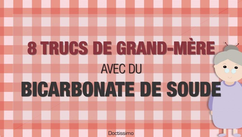 8 trucs de grand-mère avec du bicarbonate de soude