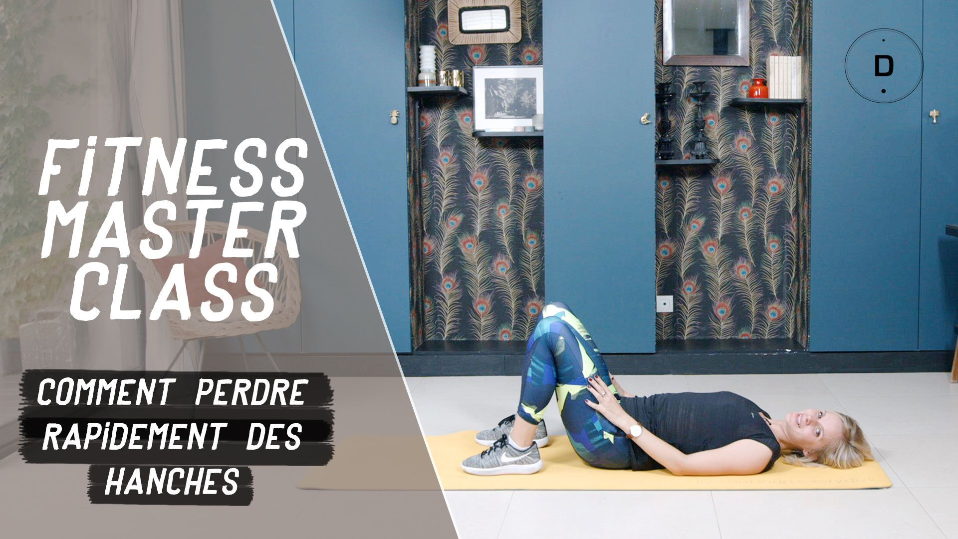 Comment perdre rapidement des hanches? (20 min) - Fitness Master Class