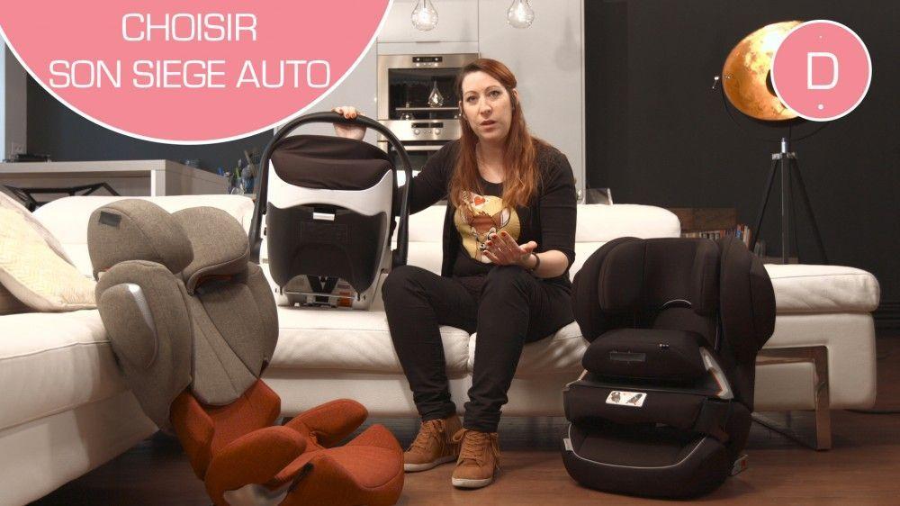Comment choisir le siège auto de bébé ?