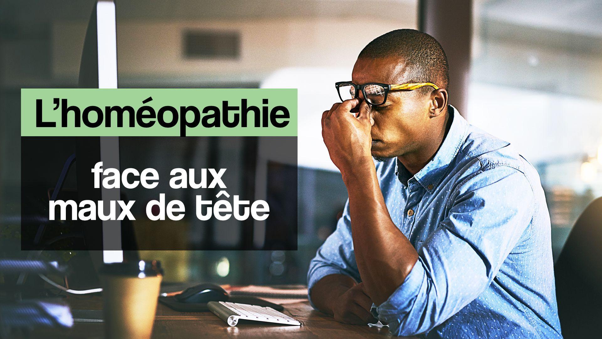L'homéopathie face aux maux de tête