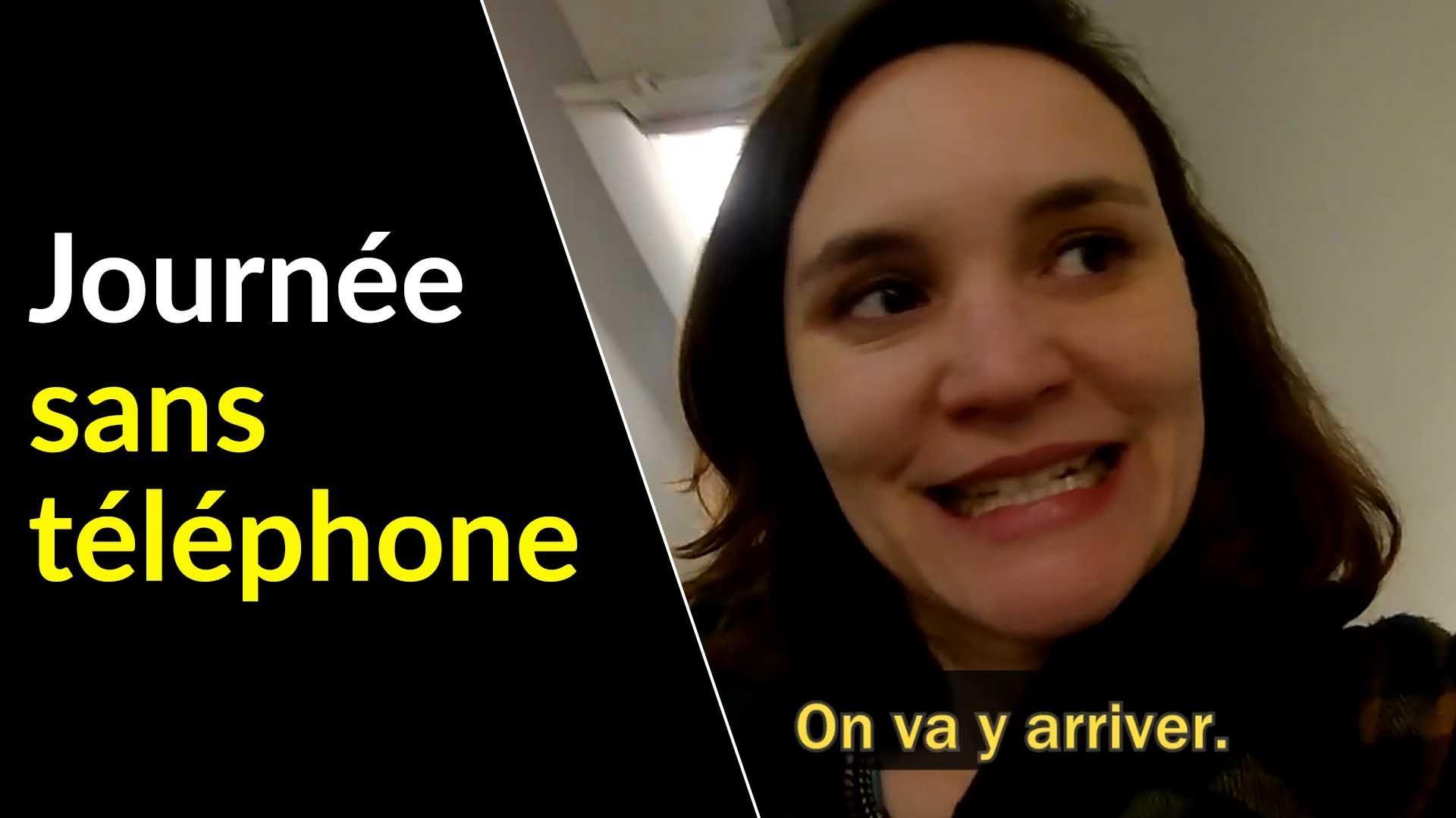 Une journée sans téléphone : Amandine a testé !