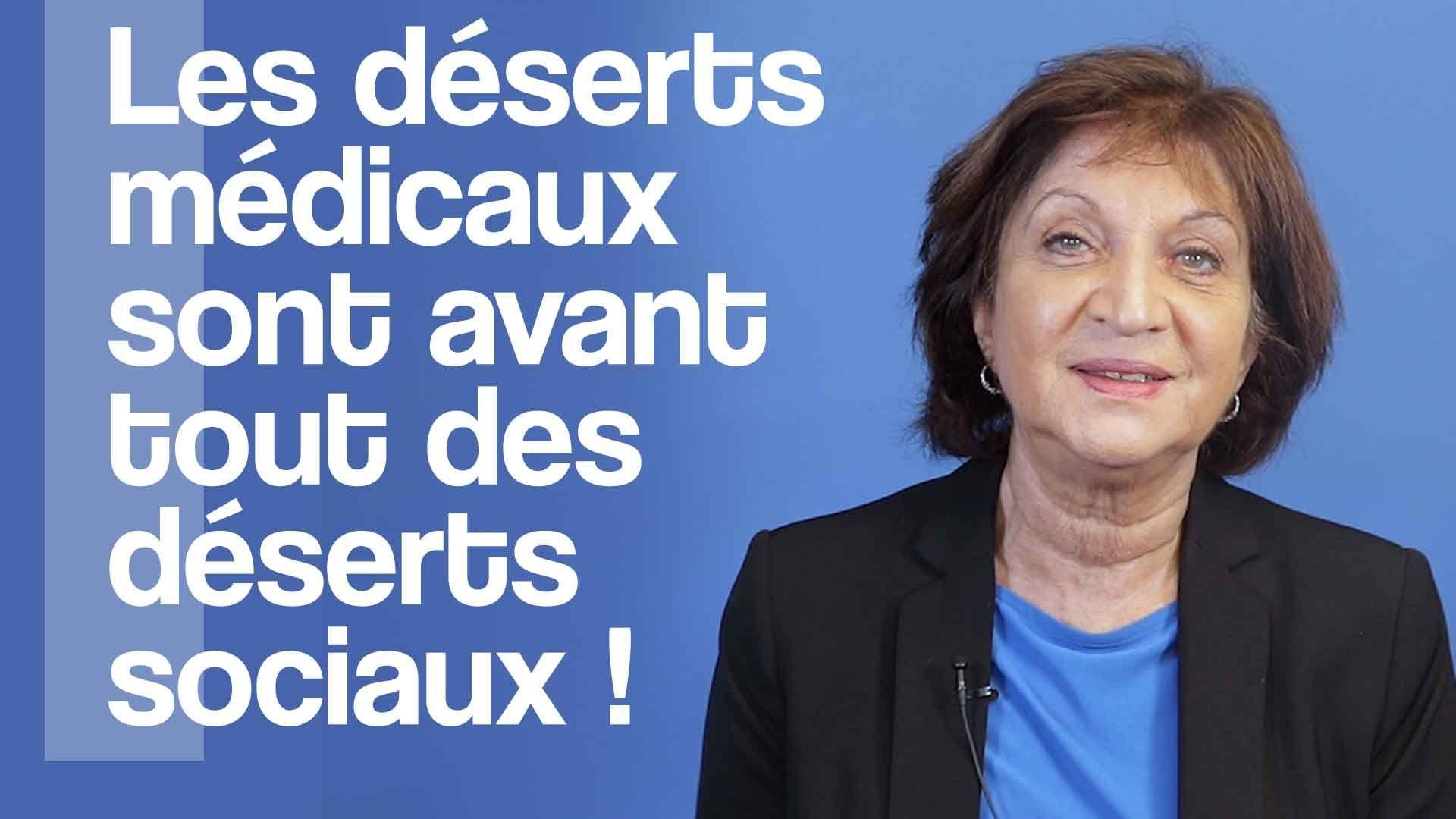 Minou Azoulai : les déserts médicaux sont avant tout des déserts sociaux !