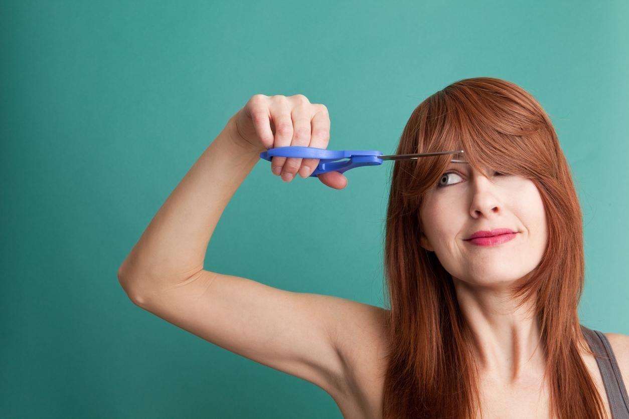 Coupe de cheveux pour hommes sans frange avec la sГ©paration