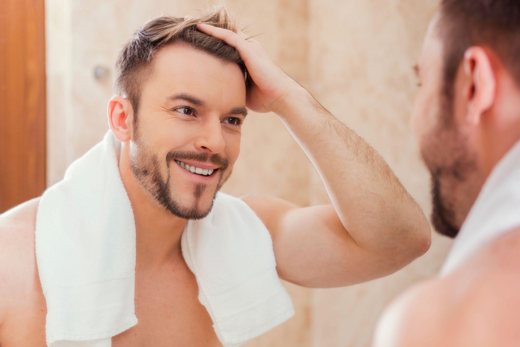 Couper les cheveux qui tombent
