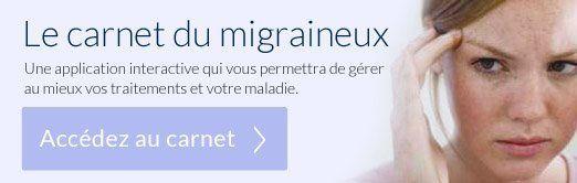 Carnet de suivi crise migraine