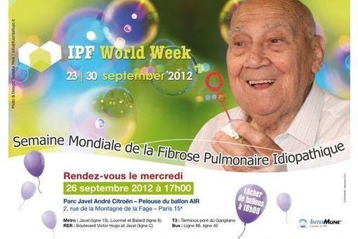 Sensibiliser les Français à la fibrose pulmonaire idiopathique