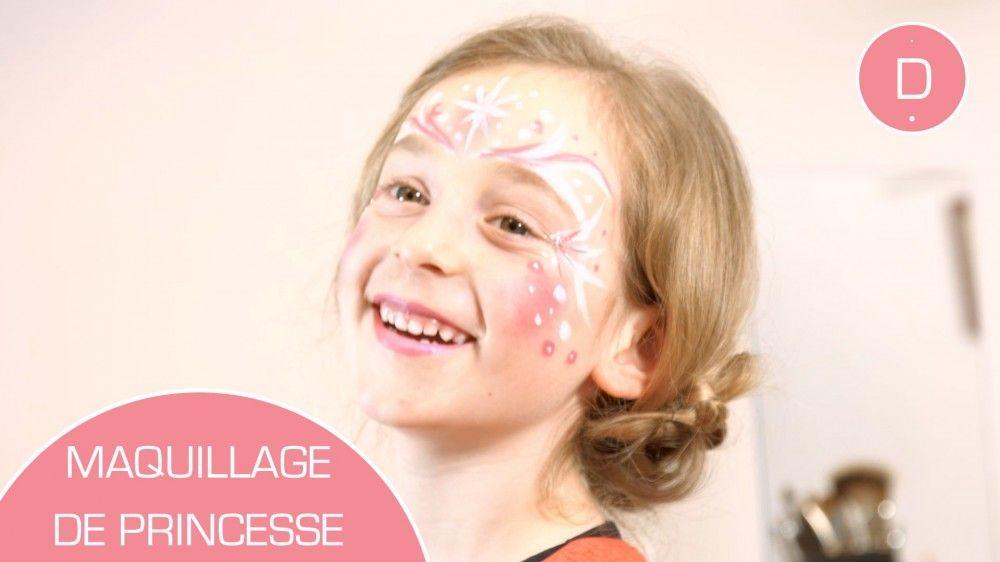 Maquillage Princesse Tutoriel Maquillage Et Déguisement