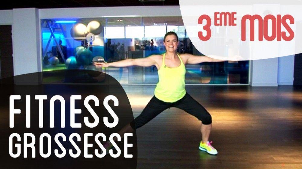 Fitness 3eme mois de grossesse   fitness femme enceinte en vidéo 01b43760e35
