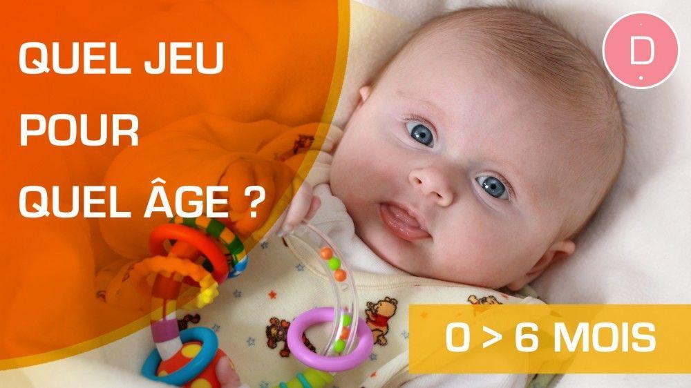 Quels jeux et jouets pour un enfant de 0 à 6 mois