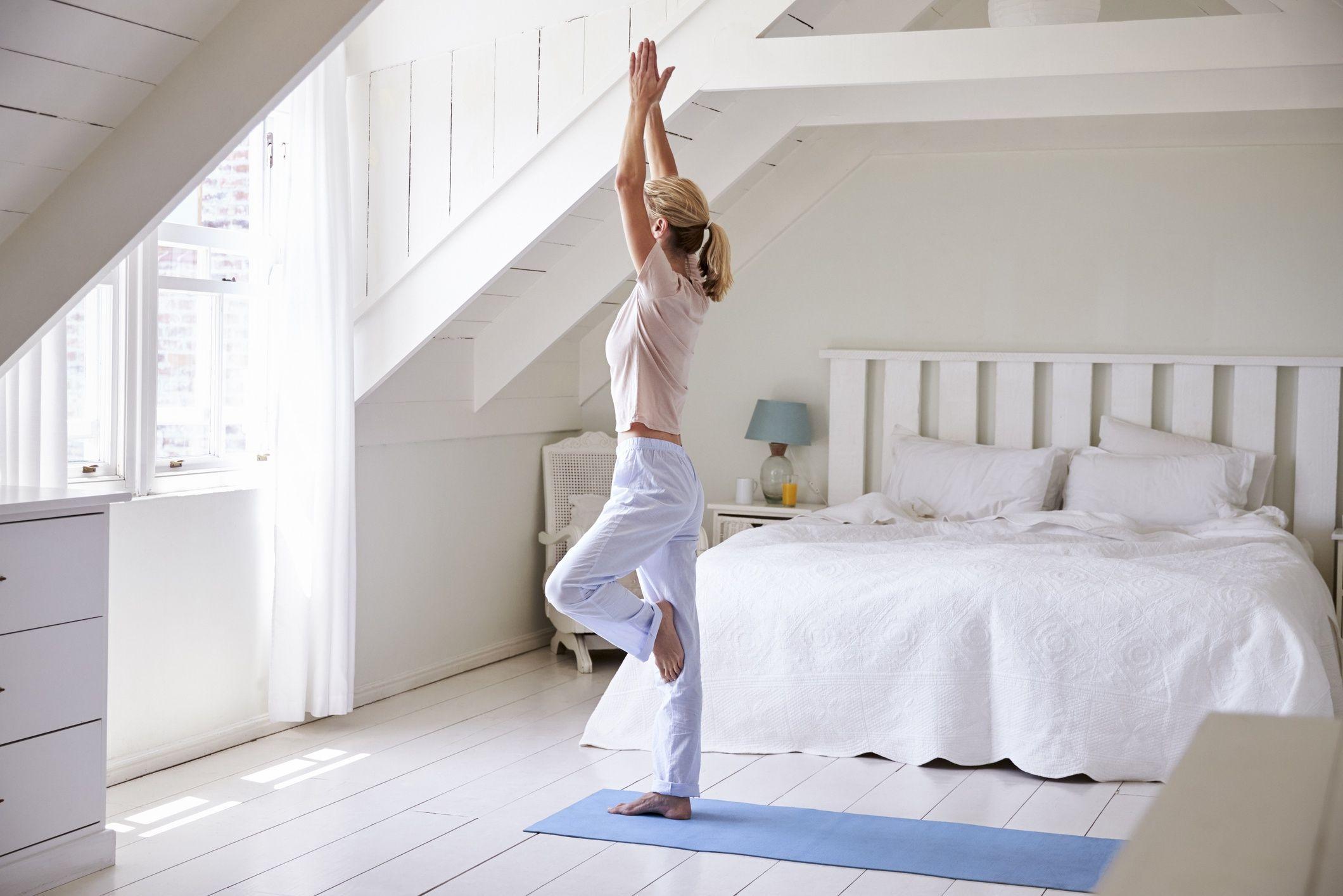 yoga matin avant petit dejeuner