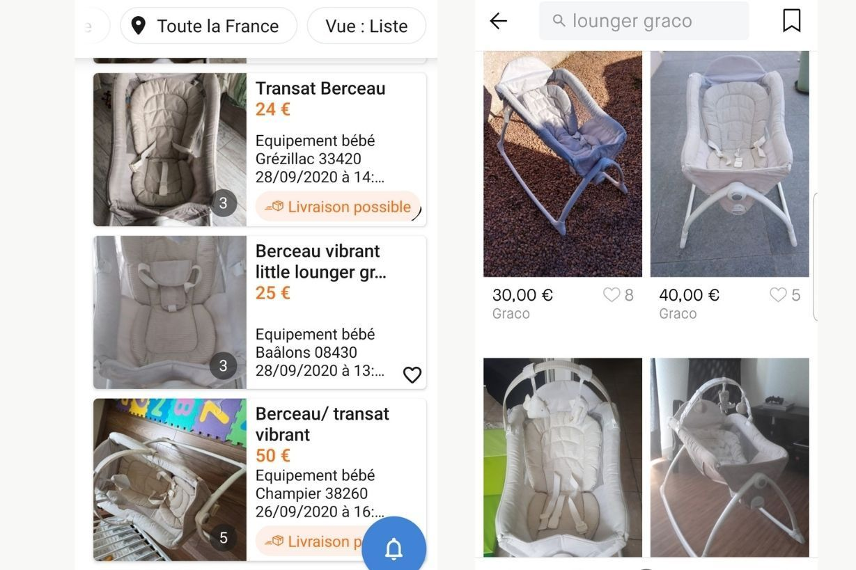 annonce-hamac-graco