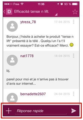 commenter sujet