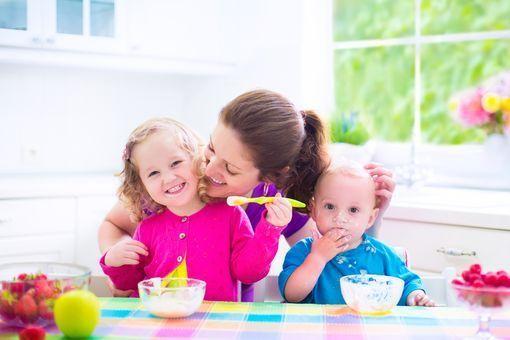 Alimentation de bébé à 13 mois