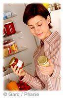 Assiette aliments
