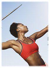 Athlétisme - lancer