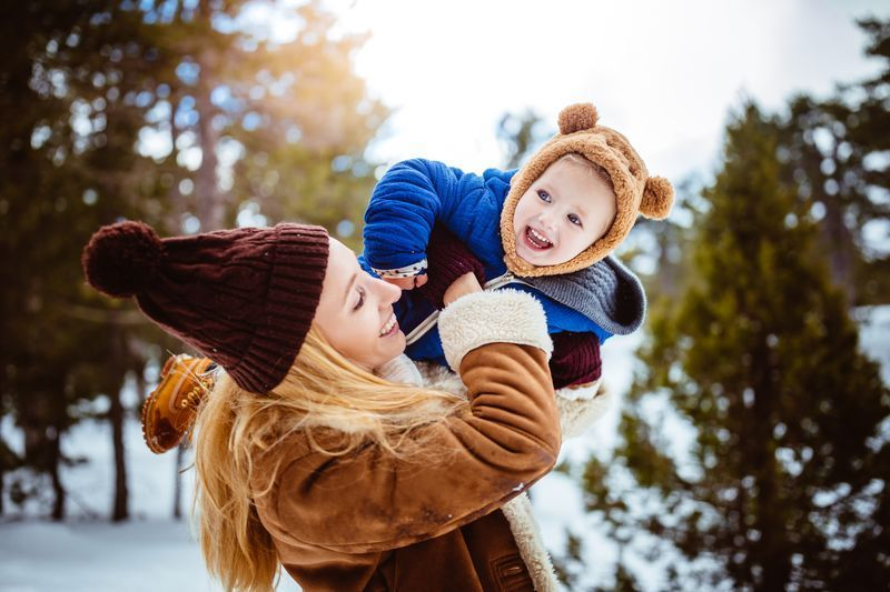 bébé en montagne