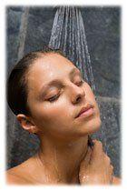 Les bienfaits de la douche