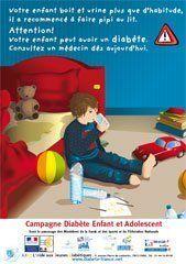 Campagne diabète enfant et adolescent