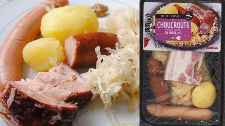 choucroute auchan