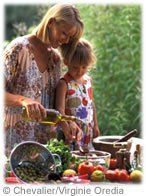 Grand-mère cuisine