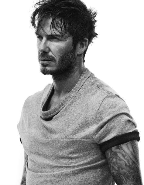 David Beckham Pour Hm Lhiver Sra Chaud Photos