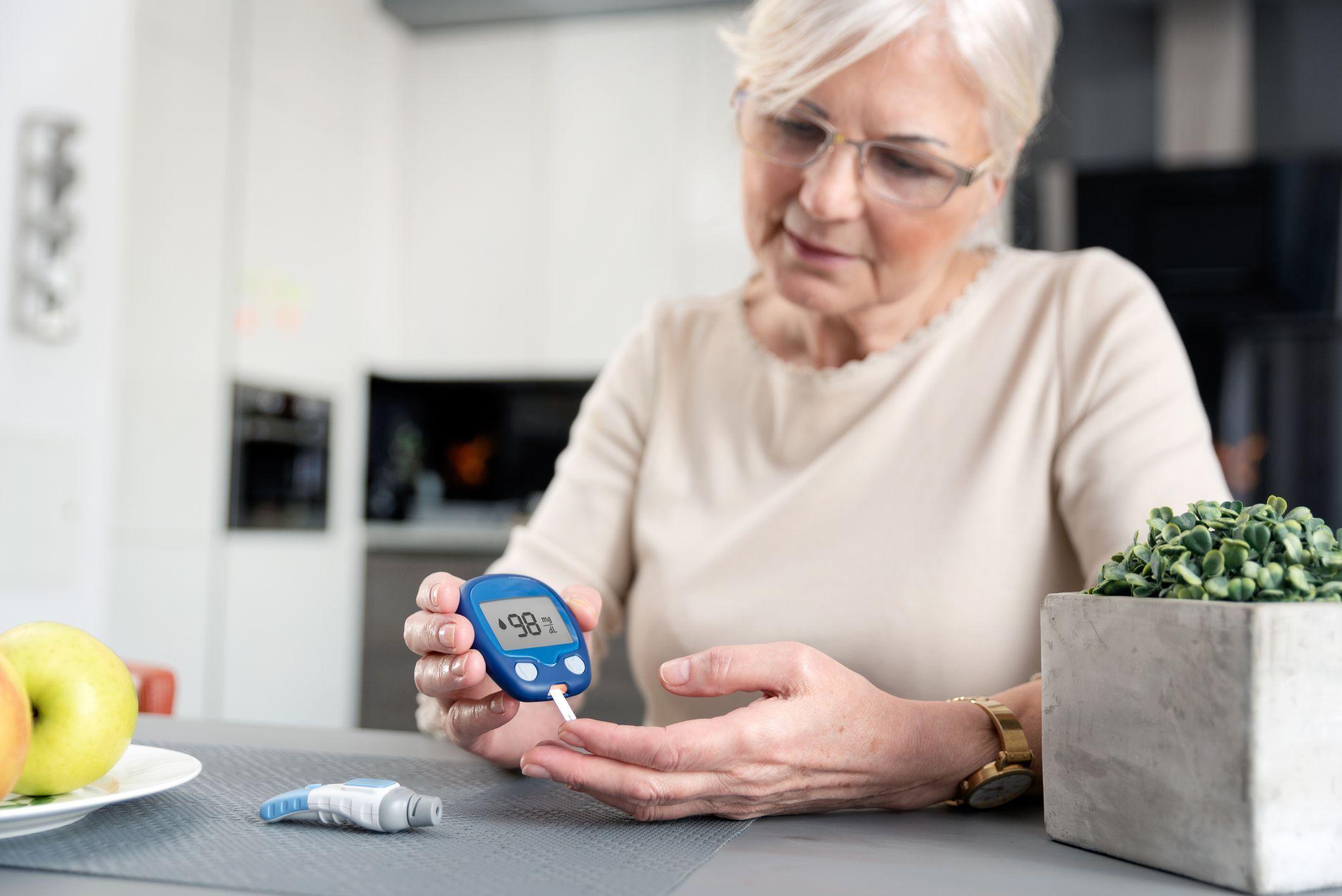 diabète des seniors