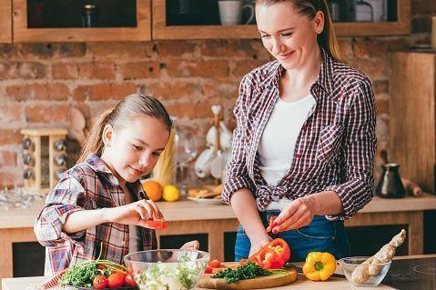 enfants vegetariens