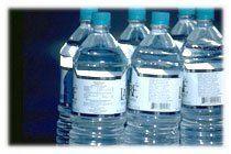 Etiquettes bouteilles d'eau