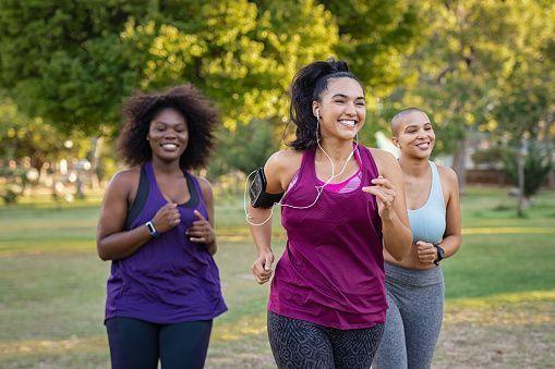 Femmes-faisant-leur-jogging