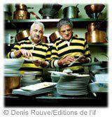 Guy Savoy et André Boniface