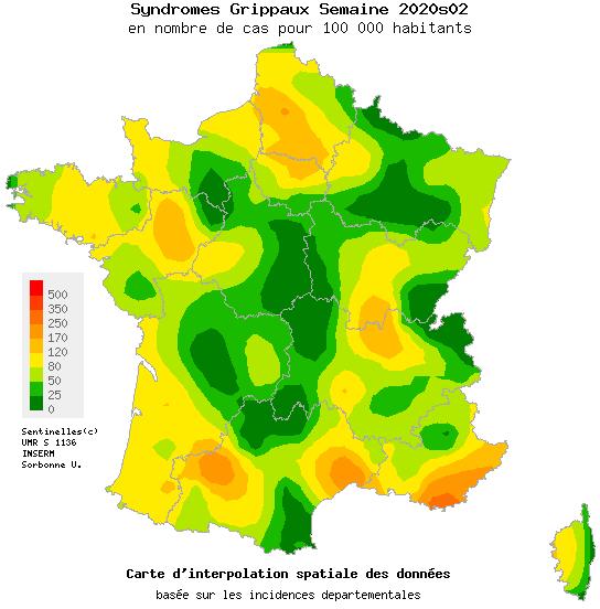 Grippe : le seuil de l'épidémie est franchi en Provence-Alpes-Côte d'Azur