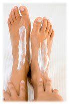Hydratation pieds