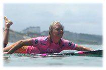 Leçon de surf avec Coline Ménard