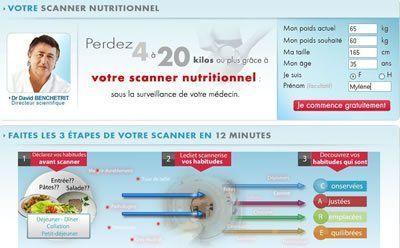 LeDiet Scanner nutritionnel