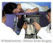 Cancer du sein examen mammotome mammographie