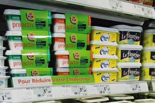 margarine anti-cholestérol