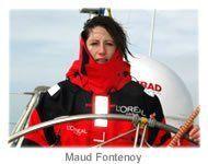 Maud Fontenoy Voile