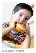 Obésité coeur enfant