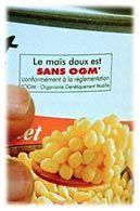OGM- Etiquetage