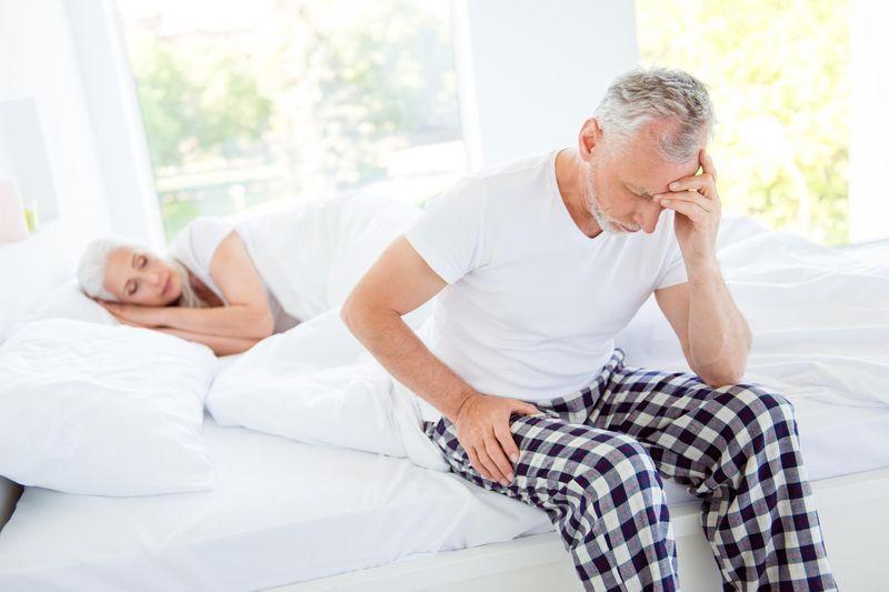 Problèmes d'érection et infarctus