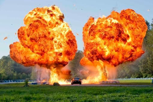 reve d'explosion