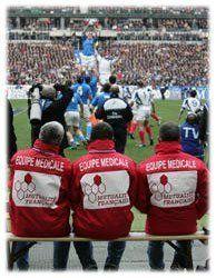 Coupe du monde de Rugby, dispositif médical
