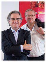 Christophe Thomassin et Jean-Michel Gilibert