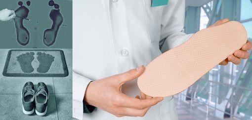 semelles orthopédiques et mal de dos