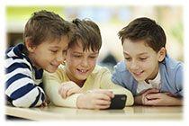 Smartphone enfant