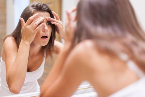 stress acné