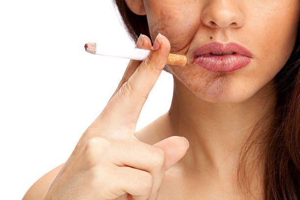 tabac peau