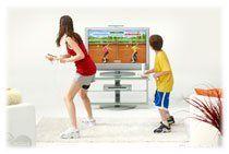 Tennis en salon