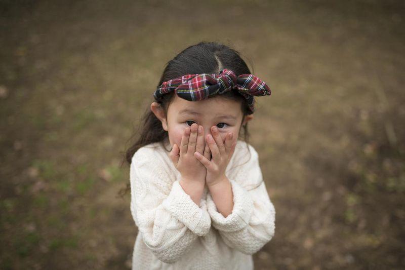 Timidité de l'enfant